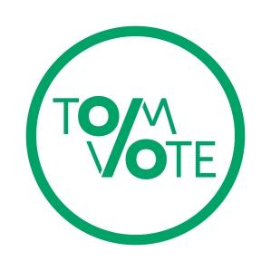 tomvote_logo_screen_green