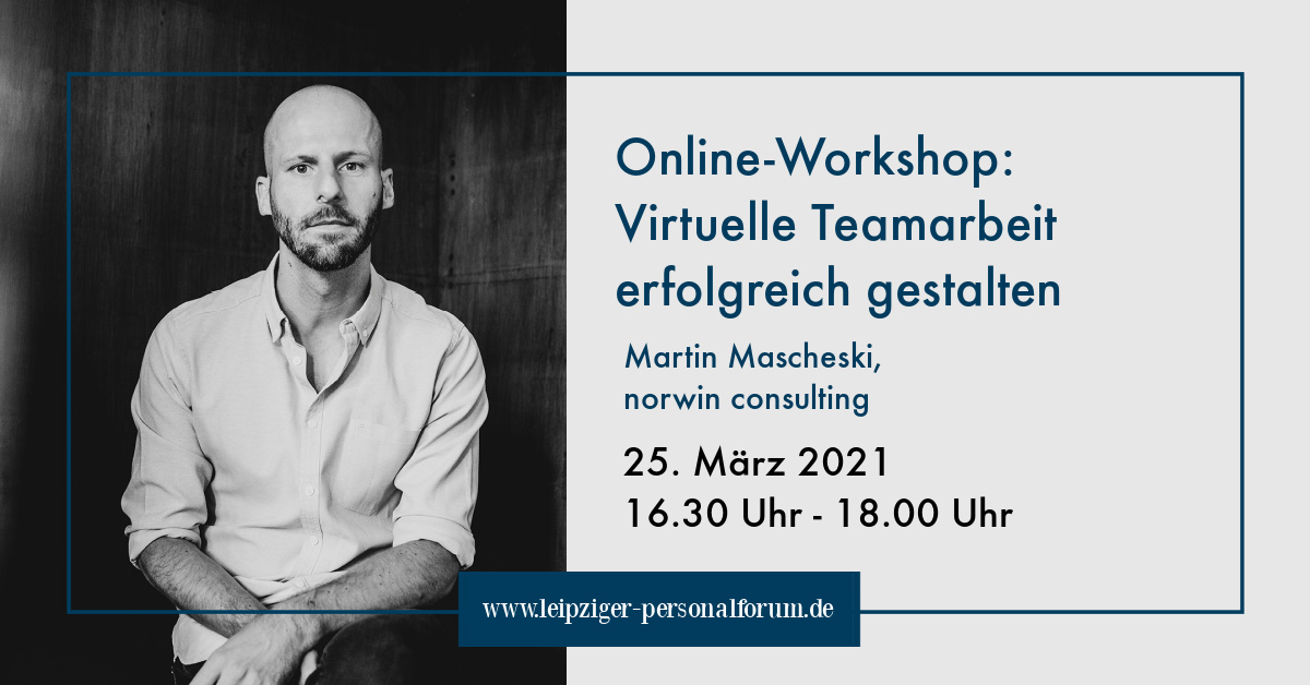 Online Workshop zum Leipziger Personalforum
